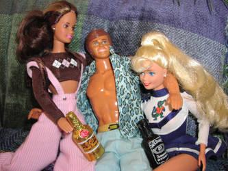 Barbie Ken n Barbie by Della-Stock