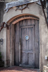 Pirate Door 2 by Della-Stock