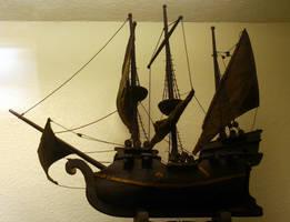 Pirate Ship by Della-Stock