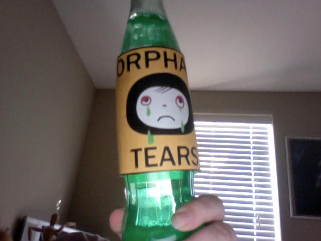 sippin on orphan tears