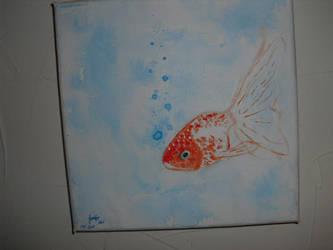 Goldfish Acrylic by original001
