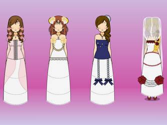 kisekae: wedding dress by Blue-marin