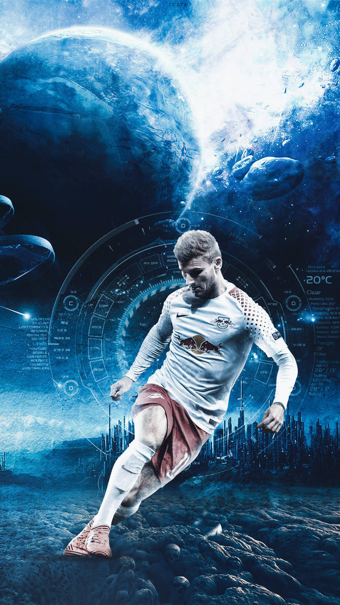 Timo Werner by fzgfx