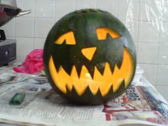 melon-o-lantern by MJ-lim