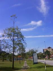 Clear blue sky by MJ-lim