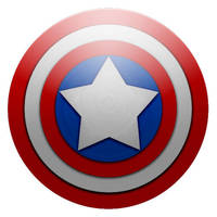 Captain America Shield by MJ-lim