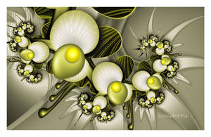 Yellow pearl blossom by roup14