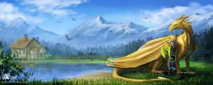 Dragon Farm by Azany
