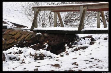 Winter Bridge by JohnDamen