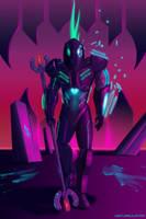 Neon Nothings by Disturbulator