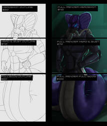 New Commission Pricing by Disturbulator