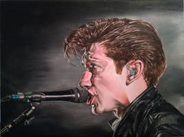 Alex Turner painting by DieselBenz