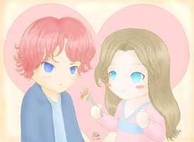 My cute side on characters by FernandaNia