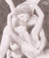 Eros and Psyche by FernandaNia