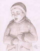 Sleeping in the winter by FernandaNia