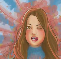 Nia pink by FernandaNia