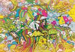 Bubble  Gum  Chaotic  Landscap by photoshop-addict28