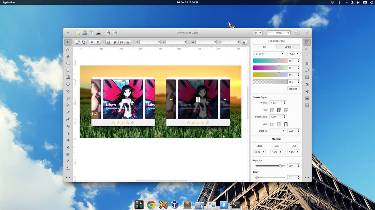 Inkscape Redesign by BassUltra