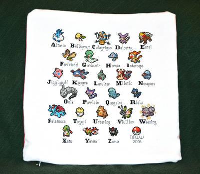 Pokemon Pillow #1 by eyesse