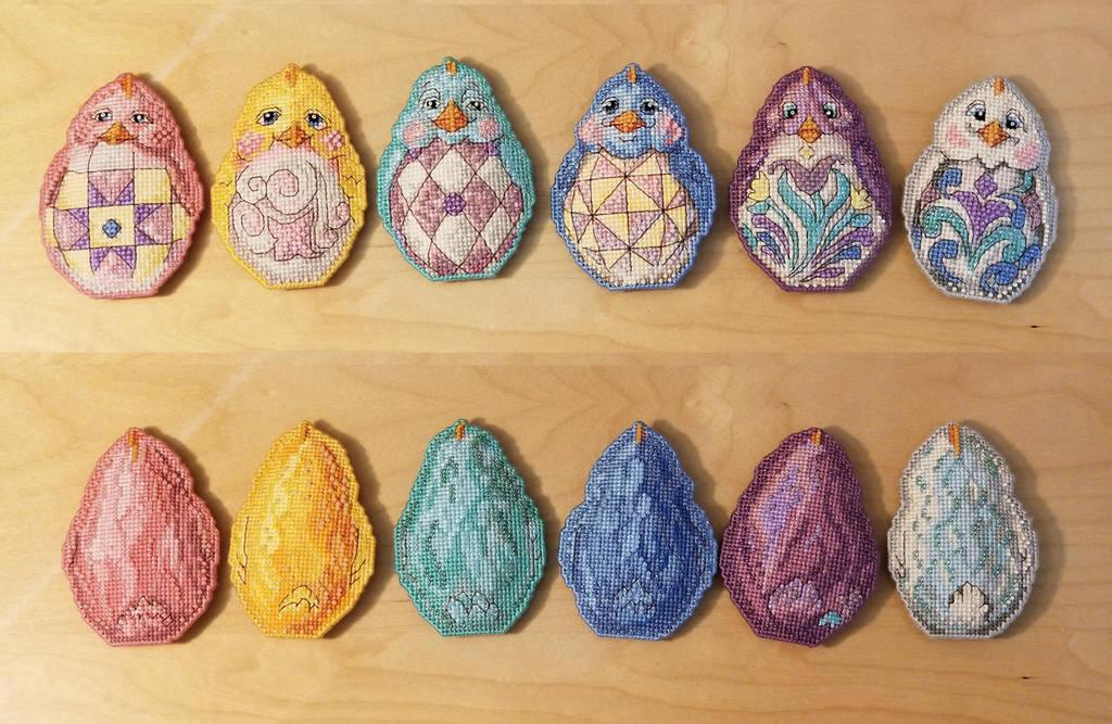Jim Shore Easter Chicks by eyesse
