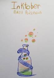 [InkTober|Day I] Poisonous by TechnoSchnauzer
