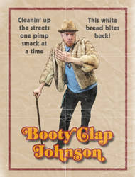 Booty Clap Johnson by Ghostexorcist