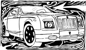 Maze Rider by ink-blot-mazes