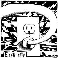Electric Maze by ink-blot-mazes