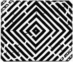Pulsating diamond maze by ink-blot-mazes