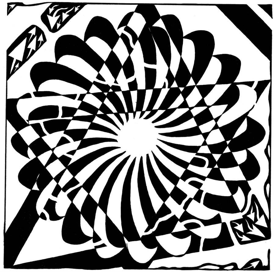 Jewish Pride Maze by ink-blot-mazes