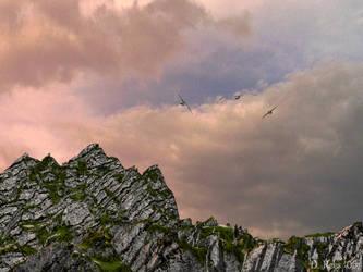 Flying by Zethara