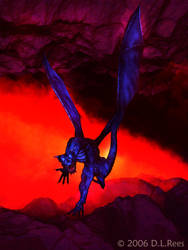 Blue Dragon by Zethara