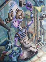 Night Laborer by Steelgrave