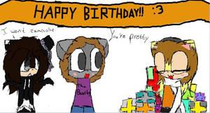 Happy Birthday, Pudding by RingoStarr911