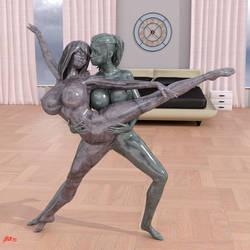 Bedroom Ballet II by Stevie3D