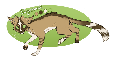 Singemask Reference - April 2015 by Finchwing