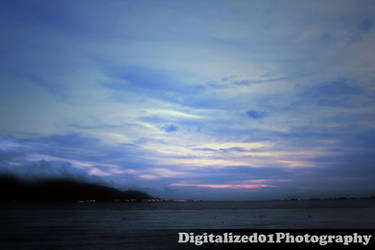 Tuen Mun Sunset by 01001001van