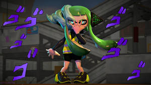 We Fight Again, Agent 8 (Splatoon SFM Poster) by Johnny-Inkling
