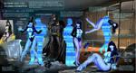 Zatanna Kidnapped Crime Scene by Damselfiend
