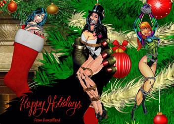 Happy Holidays from Damselfiend!!! by Damselfiend