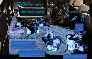 Zatanna Kidnapped Crimescene Part 2 by Damselfiend