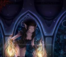 Naija in Mithalas (Aquaria fan art) by Humi-ko
