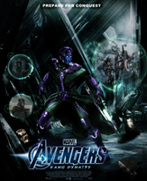 AVENGERS: KANG DYNASTY poster by DarthDestruktor