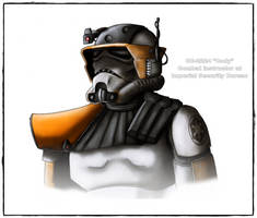 Imperial Commander Cody by DarthDestruktor