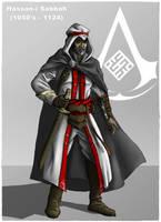 Assassin's Creed: Hassan i Sabbah by DarthDestruktor