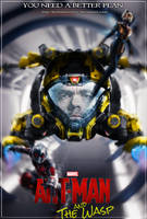 Ant-Man and The Wasp fan made poster by DarthDestruktor