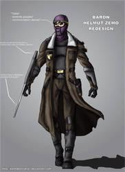 Baron Zemo redesign by DarthDestruktor