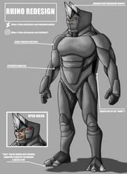 Rhino Redesign by DarthDestruktor