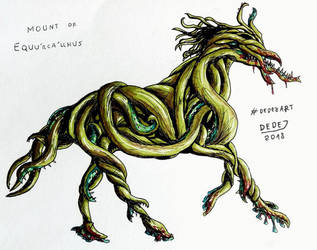 Eldritch Horse by DarthDestruktor