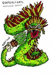 Quetzalcoatl by DarthDestruktor